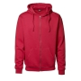 Hooded cardigan Red, 3XL