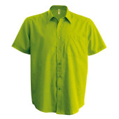 Ace - heren overhemd korte mouwen burnt lime 5xl