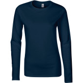 Softstyle® fitted ladies' long sleeve t-shirt