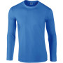 Softstyle® euro fit adult long sleeve t-shirt royal blue xl