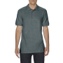 Gildan Polo Double Pique Softstyle for him dark heather XXL