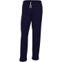 Heavy blend™ adult open bottom sweatpants navy m