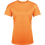 Functioneel damessportshirt orange xs