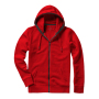 Arora Hooded Full Zip Sweater XXL Red