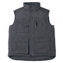 Expert pro bodywarmer dark grey xl