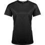 Functioneel damessportshirt black xs