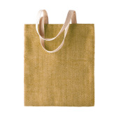 100% natural yarn dyed jute bag