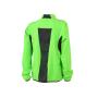 Ladies' Running Jacket fluorgroen/zwart
