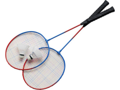 Metalen badmintonset