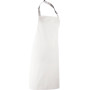 Colours bib apron white one size