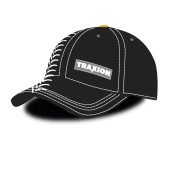 Baseballcap black with Traxion profile