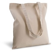 Cotton canvas shopper bag