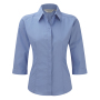 Popelin Bluse mit 3/4 Arm Corporate Blue XS