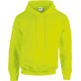 Heavy blend™ classic fit adult hooded sweatshirt safety yellow xxl