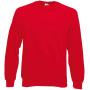 Classic raglan sweat (62-216-0) red xl