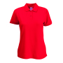 65/35  Lady-Fit Polo Red M