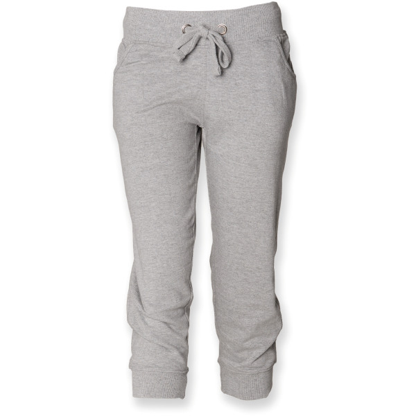 Ladies 3/4 length jogging bottoms