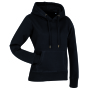 Stedman Sweater Hood Active for her black opal S