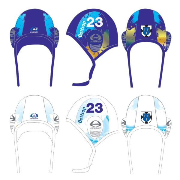 Custom made Onderwater Rugby Caps Waterswim