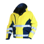 1263 Hi-Vis Jacket Layer 3  Yellow/Navy s