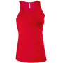 Dames top red l