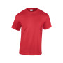 Heavy cotton™ classic fit adult t-shirt red xl