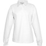 Damesrugbypolo white xl