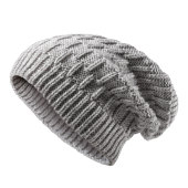 Heavy Knitted Slouchy Hat