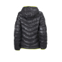 Ladies' Down Jacket carbon/chemisch-geel