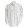 Heren oxford overhemd lange mouwen white xl