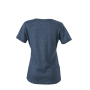 Ladies' Heather T-Shirt blauw-melange