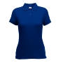 65/35  Lady-Fit Polo Navy XXL
