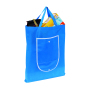 "Shopper""Porto""non-woven,foldable,l. blue"