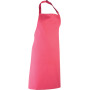 Colours bib apron fuchsia one size