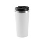 Beker roestvrij staal white one size