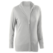 Ladies' full zip cardigan