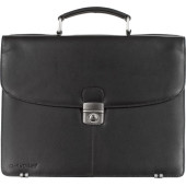 Charles Dickens® leather briefcase
