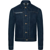 Denim trucker jacket frame men