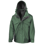 3-in-1 Jacket with Fleece Bottle Green XS