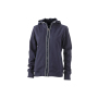 Ladies' Hooded Jacket navy/navy