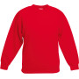 Kids classic set-in sweat (62-041-0) red 3/4