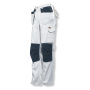 2159 Trouser HP White Line White/Black D120