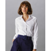 Women's Tailored Fit Stretch Oxford Shirt LS