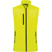Ladies' softshell bodywarmer