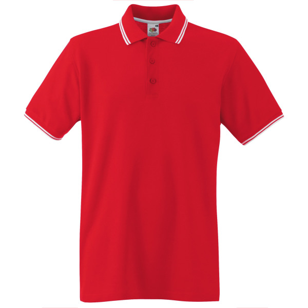 Premium tipped polo shirt (63-032-0)