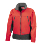 Activity Softshell Jacket M Red/Black