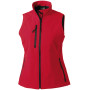 Ladies' softshell gilet classic red l
