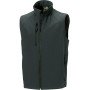 Men's softshell gilet titanium m