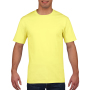 Gildan T-shirt Premium Cotton Crewneck SS for him cornsilk S