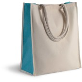 Cotton/jute tote bag - 23 l